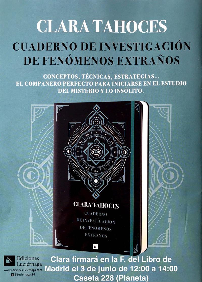 Firma en la Feria del Libro de Madrid